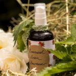 Natürliche Haarpflege mit Brennnessel und Rose selber machen