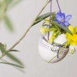 Last Minute Osterideen: Hübsche DIY Osterei-Vasen