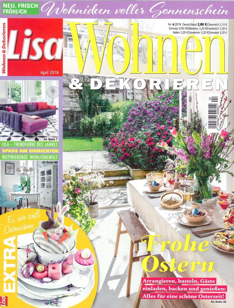 Lisa Wohnen & Dekorieren Nr. 4/2018 Cover